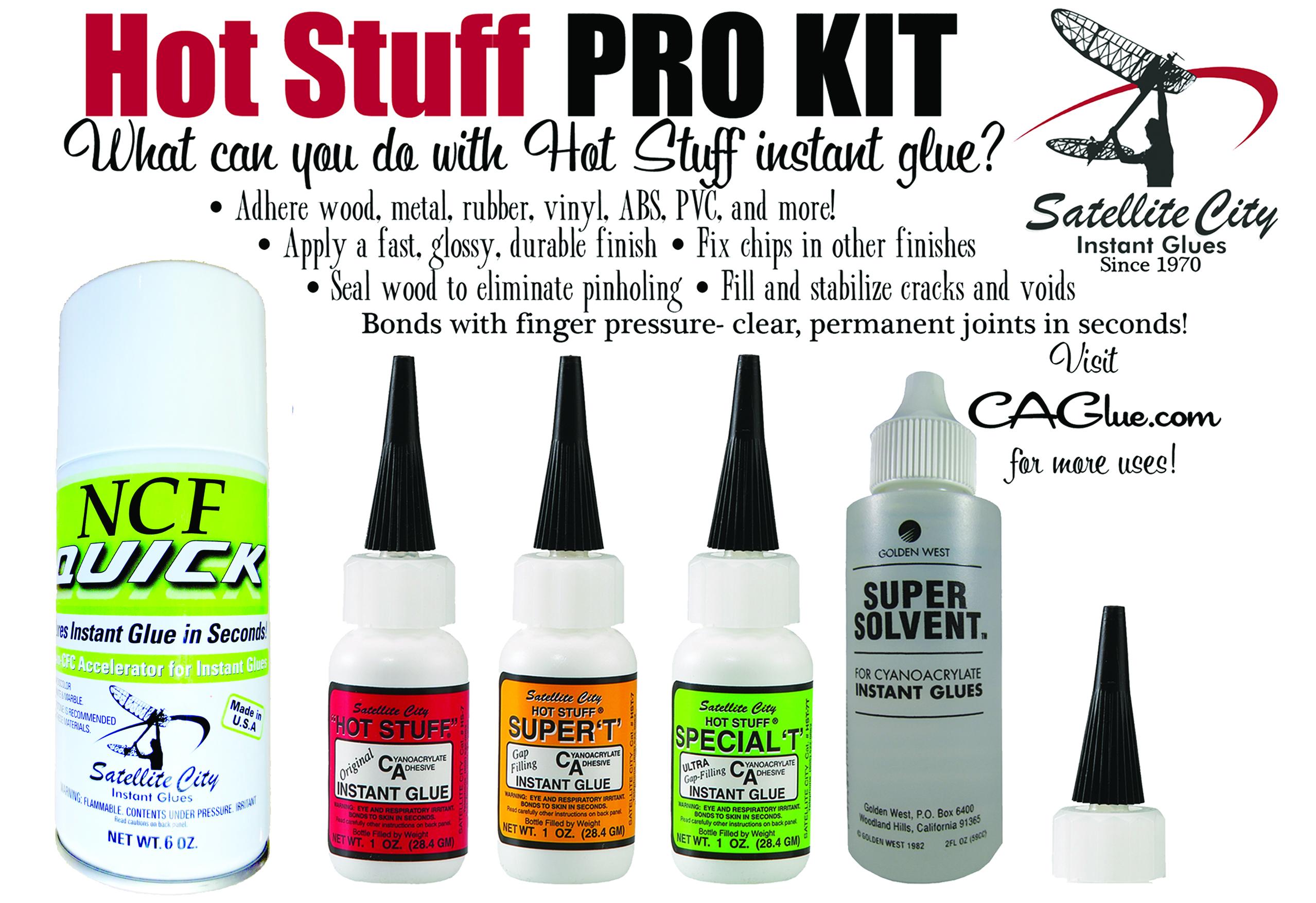 Hot stuff glue
