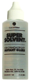 US-1 <b>Super Solvent 2oz</b> debonder for CA glue, will remove super glue