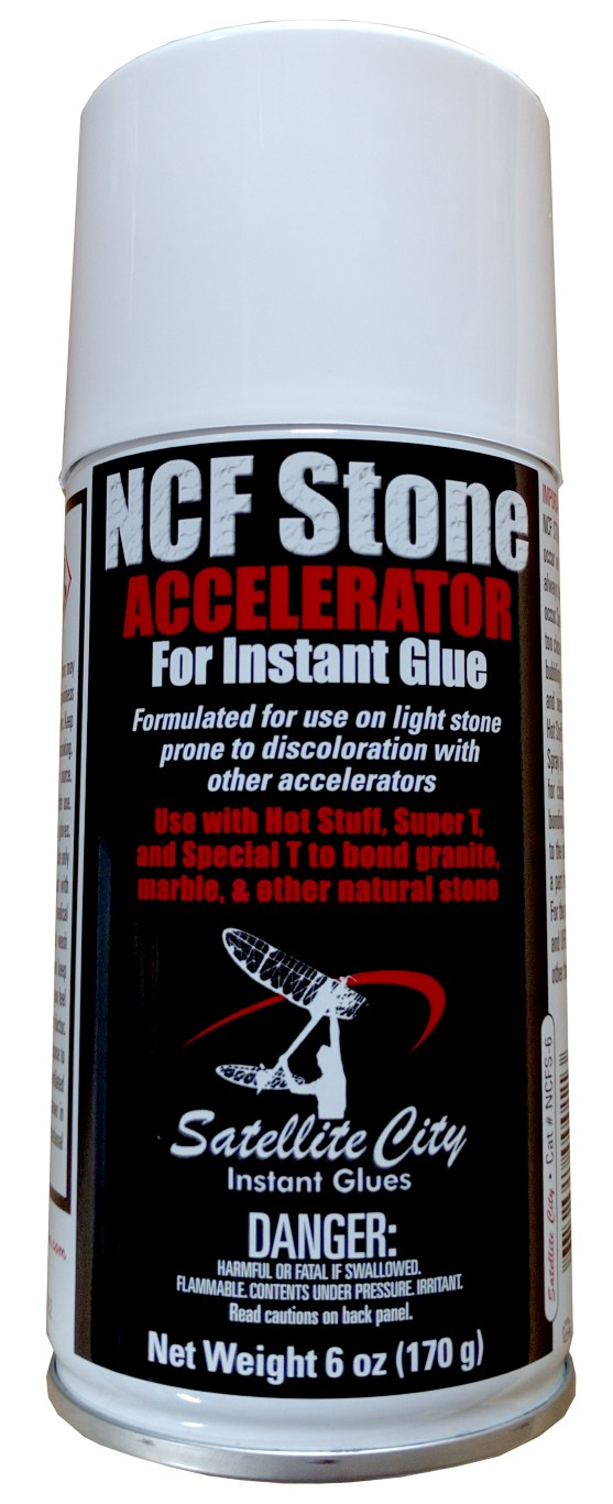 NCF Stone CA glue accelerator for natural stone from Satellite City Instant  Glues