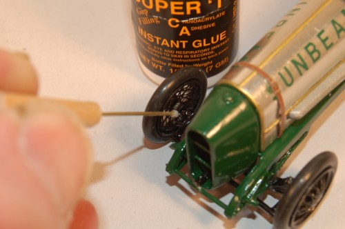 How to use CA glue from Satellite City Instant Glues- guitar repair